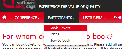 Book a ticket - Not Registered - Point 1